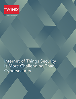 Internet of Things Security Is More Challenging Than Cybersecurity
